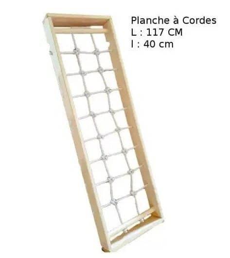 Planche à corde pour Triangle Pikler