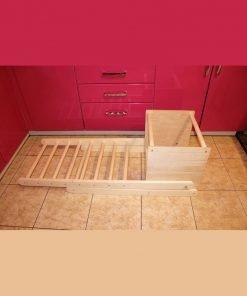 Escalier Pédagogique en bois Montessori (Pliable & facile à ranger)