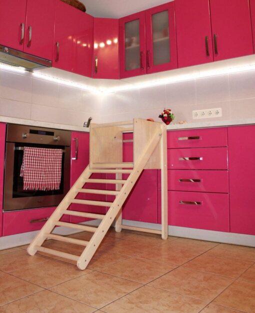Escalier Pédagogique en bois Montessori