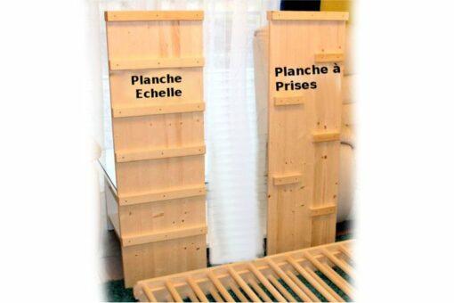 Planche échelle + Planche à prises