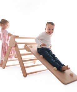 Triangle de Pikler pour 2 Enfants